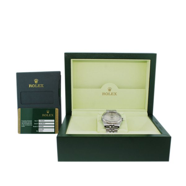 Original Rolex Box and Papers