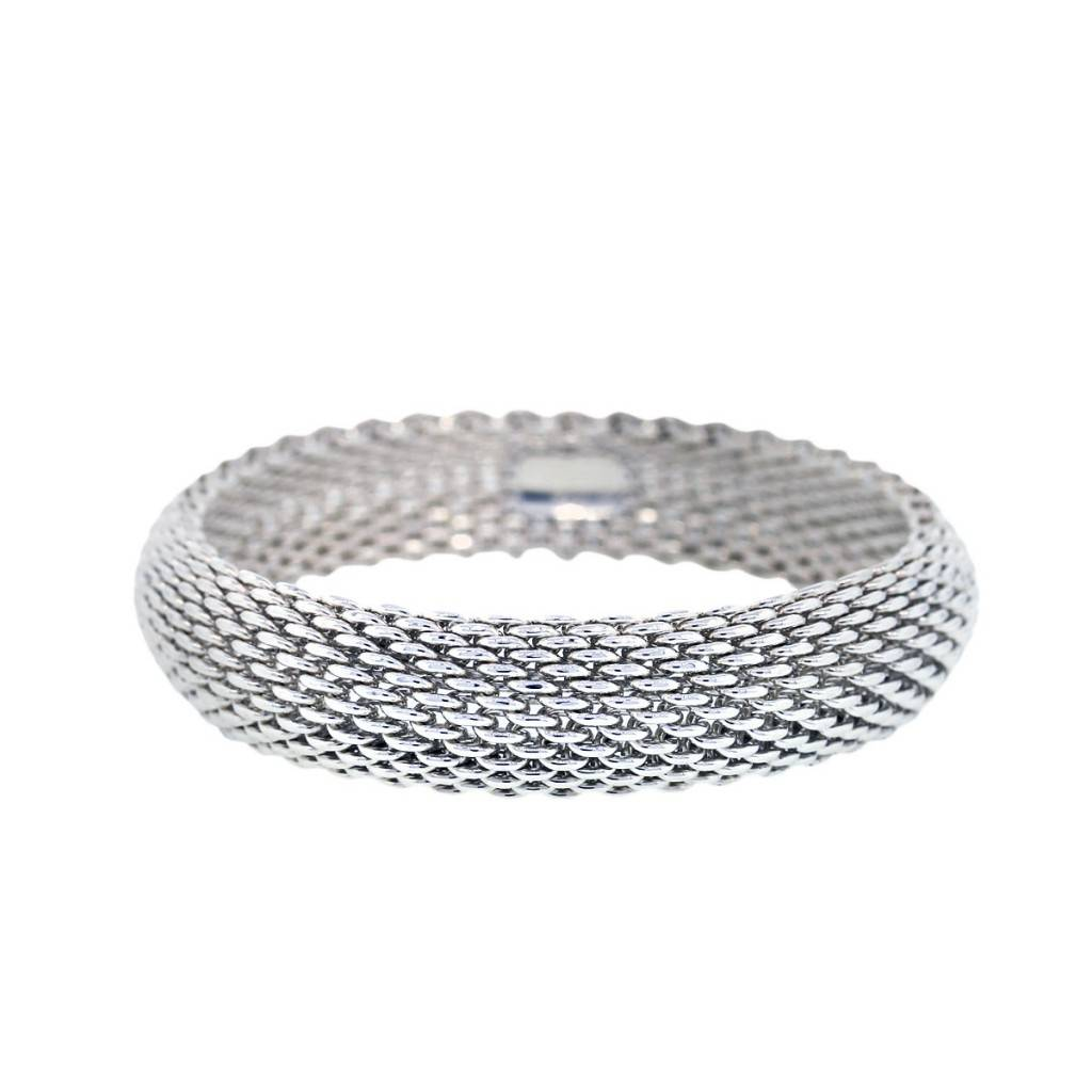 7872fe1be Tiffany & Co. Sterling Silver Somerset Mesh Bracelet-Boca Raton