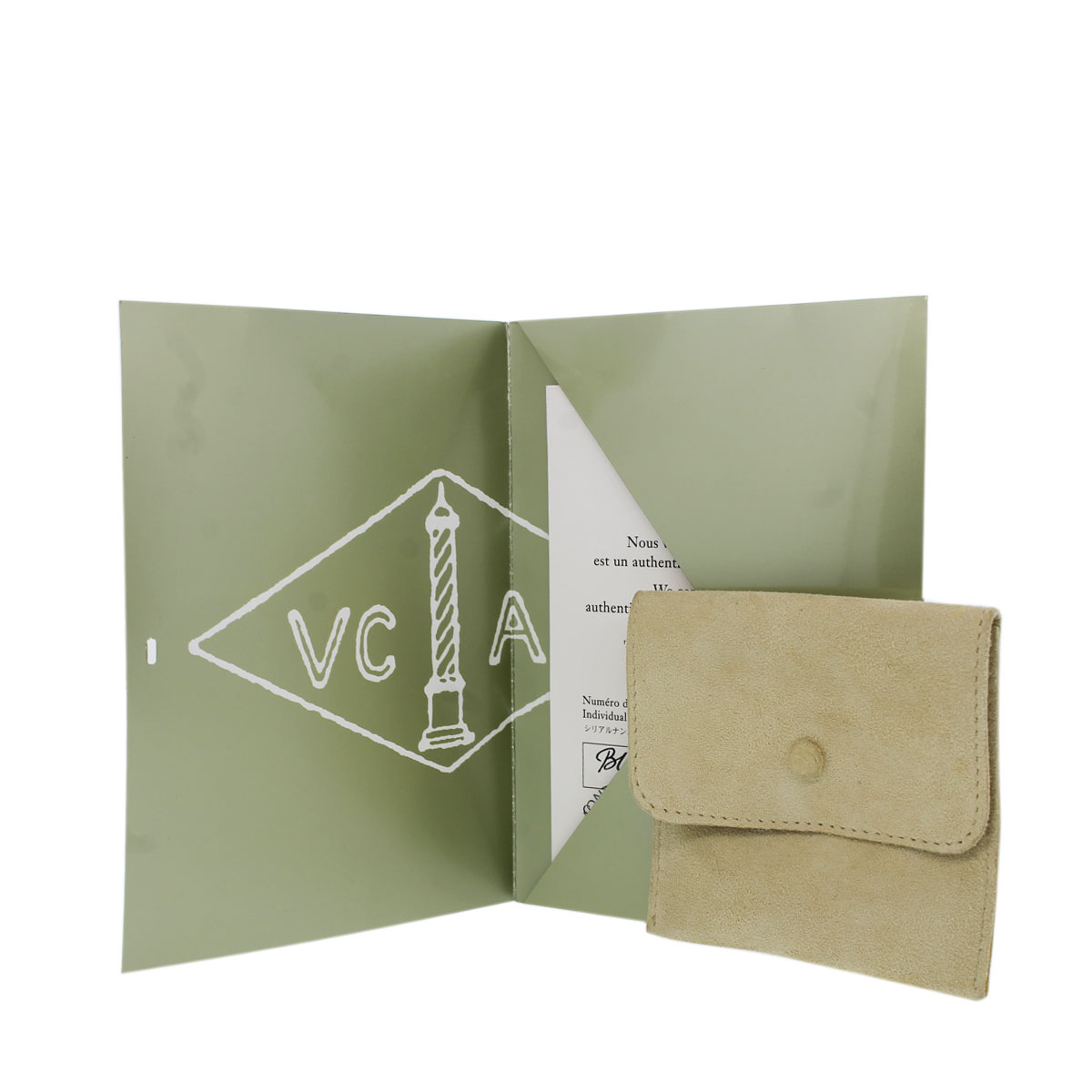 VCA Pouch and Papers