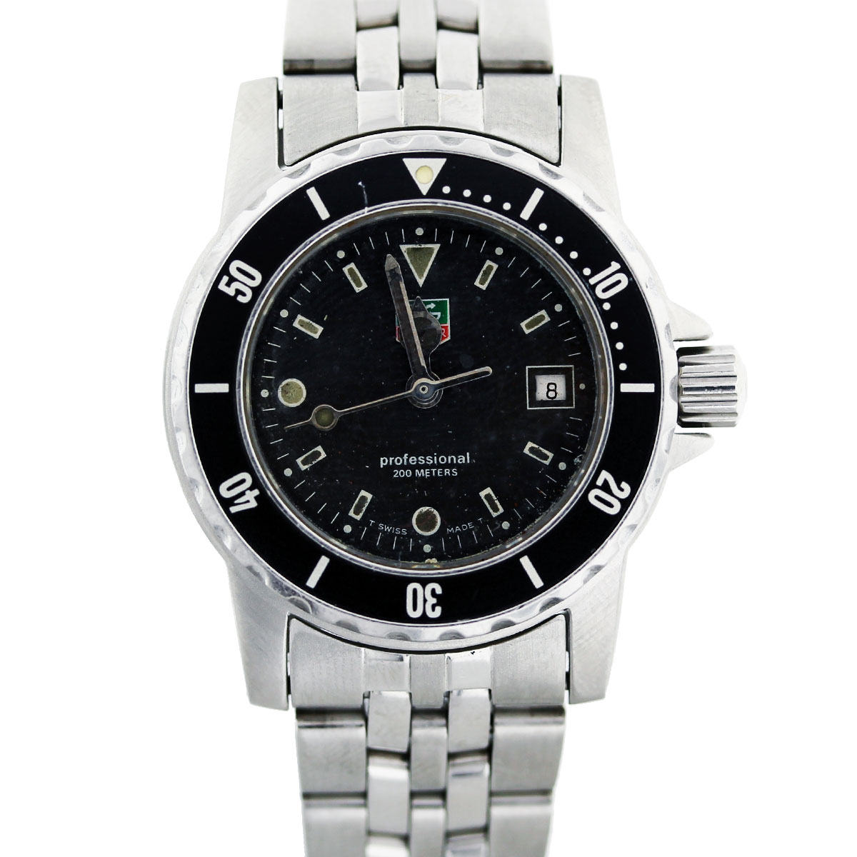 tag heuer professional wd1410 stainless steel ladies watch. Black Bedroom Furniture Sets. Home Design Ideas