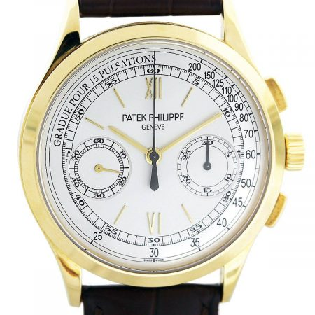 Patek Philippe 18k yellow gold watch