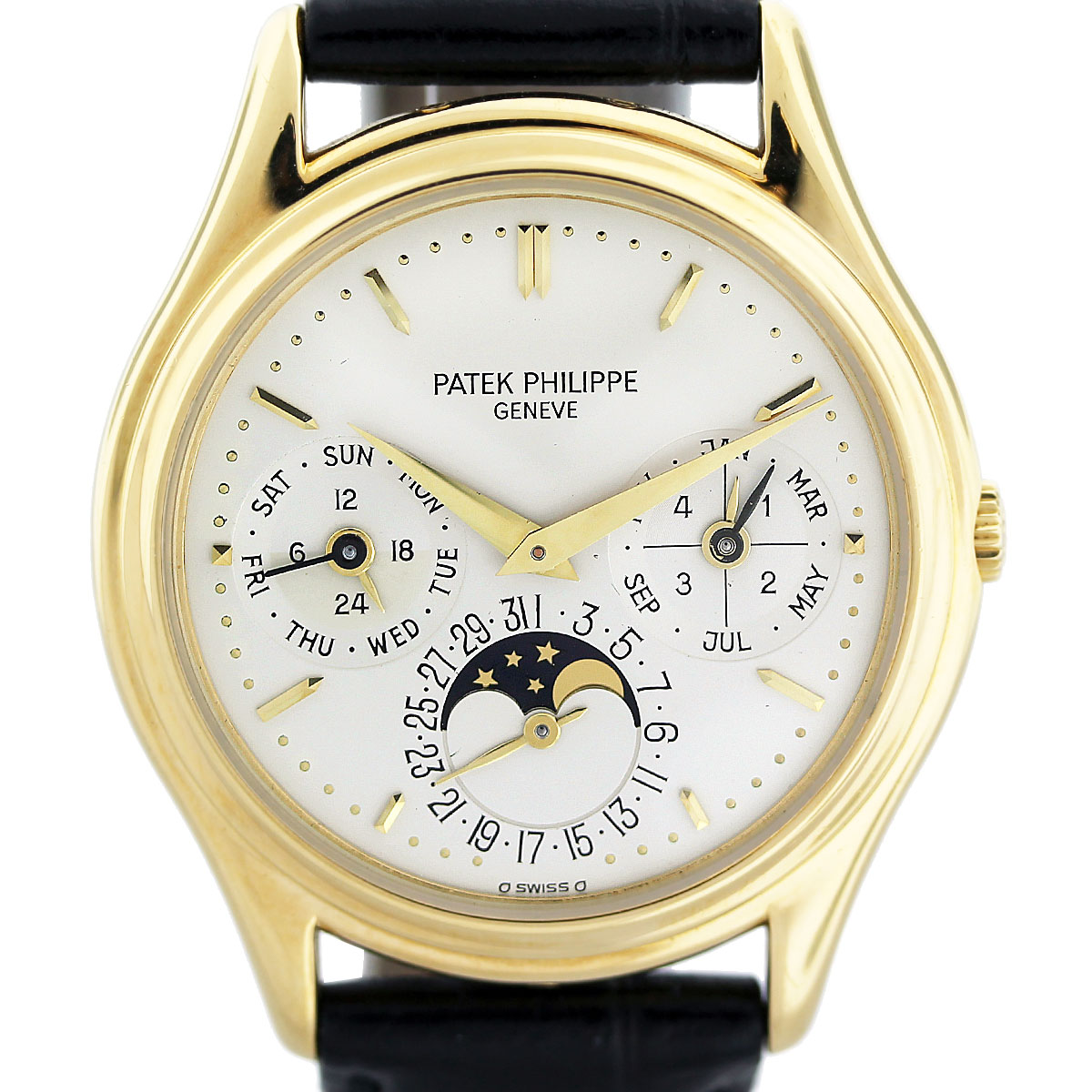 patek philippe moon phase watch