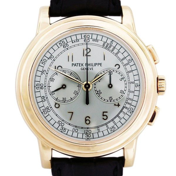 Patek Philippe Complicated 5070R 18kt Rose Gold Chronograph Mens Watch
