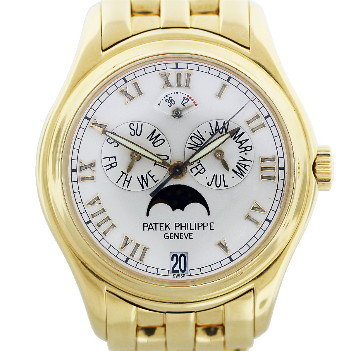 patek philippe moonphase mens watch