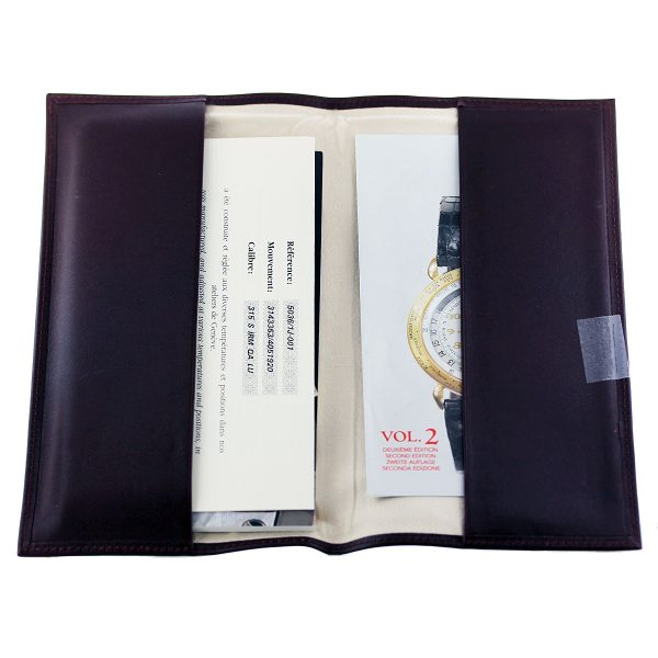 papers for Patek Philippe 5036/1J Annual Calendar Gold Watch