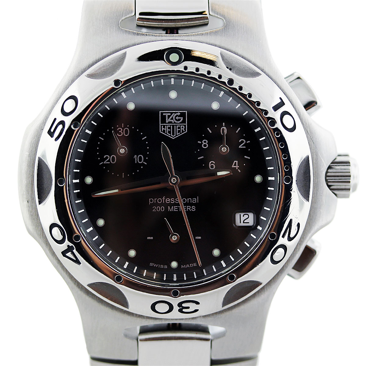 Tag Heuer Kirium Cl1212 Midsize Chronograph Unisex Watch