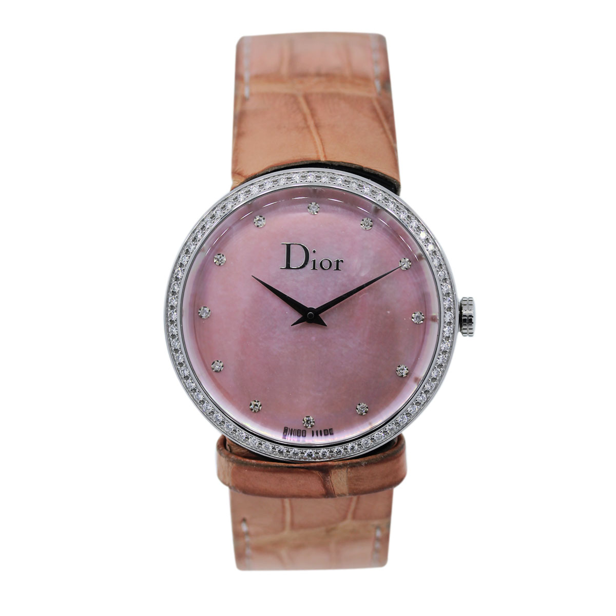 Estate Dior Pink Mother of Pearl Watch