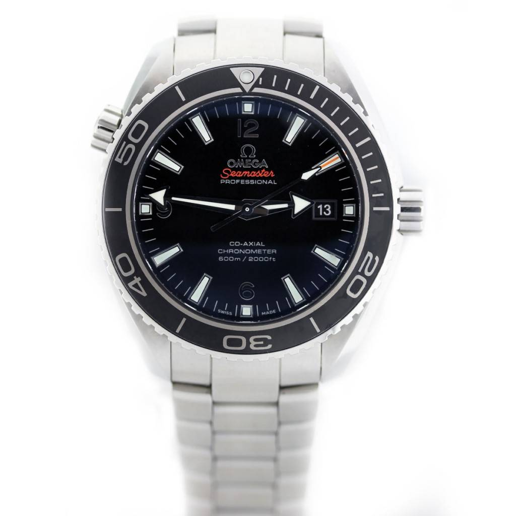 Omega Seamaster Planet Ocean Si14 Stainless Steel Watch ...