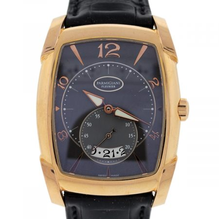 Parmigiani Fleurier Rose Gold Mens Watch
