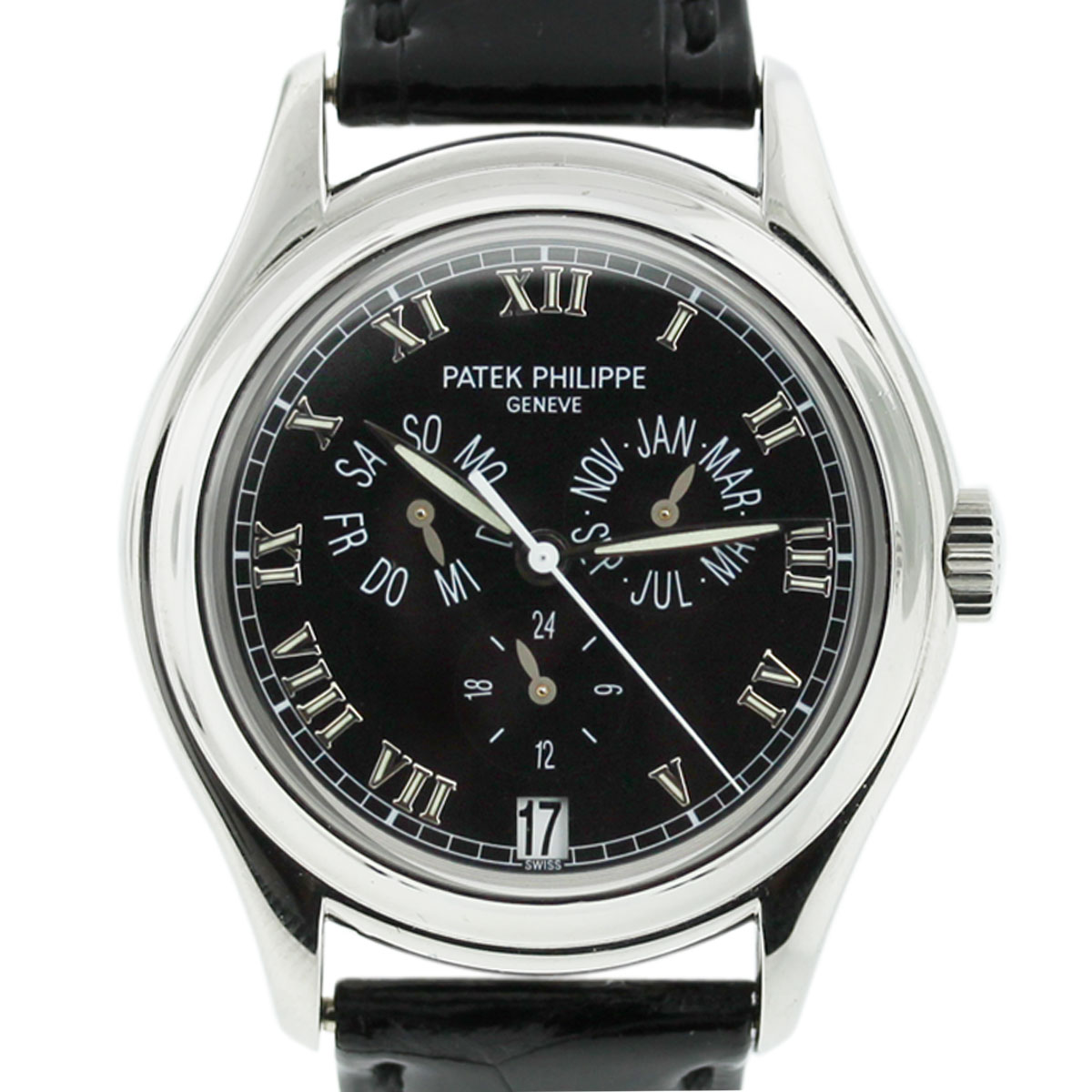 Patek Philippe 5035p Mens Watch Annual Calendar Black