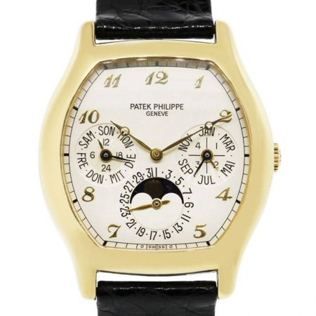 Patek Philippe 5040J 18k Yellow Gold Perpetual Calendar Watch