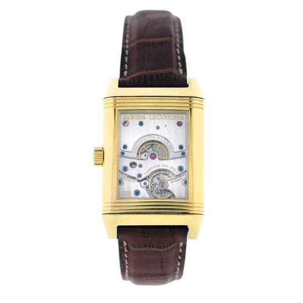 Yellow Gold Jaeger Lecoultre Reverso Watch