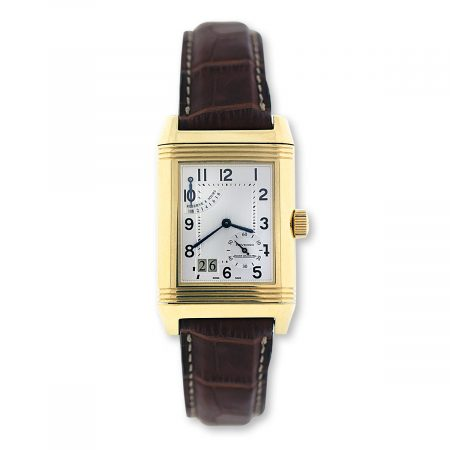 Mens Yellow Gold Reverso Watch