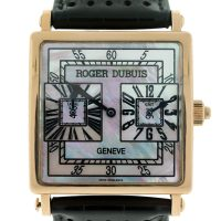"""Roger Dubuis GMT """"Too Much GMT"""" 18k Rose Gold Watch"""