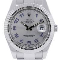 Rolex White Gold Pearlmaster 80319 Tahitian Mother of Pearl Dial Watch