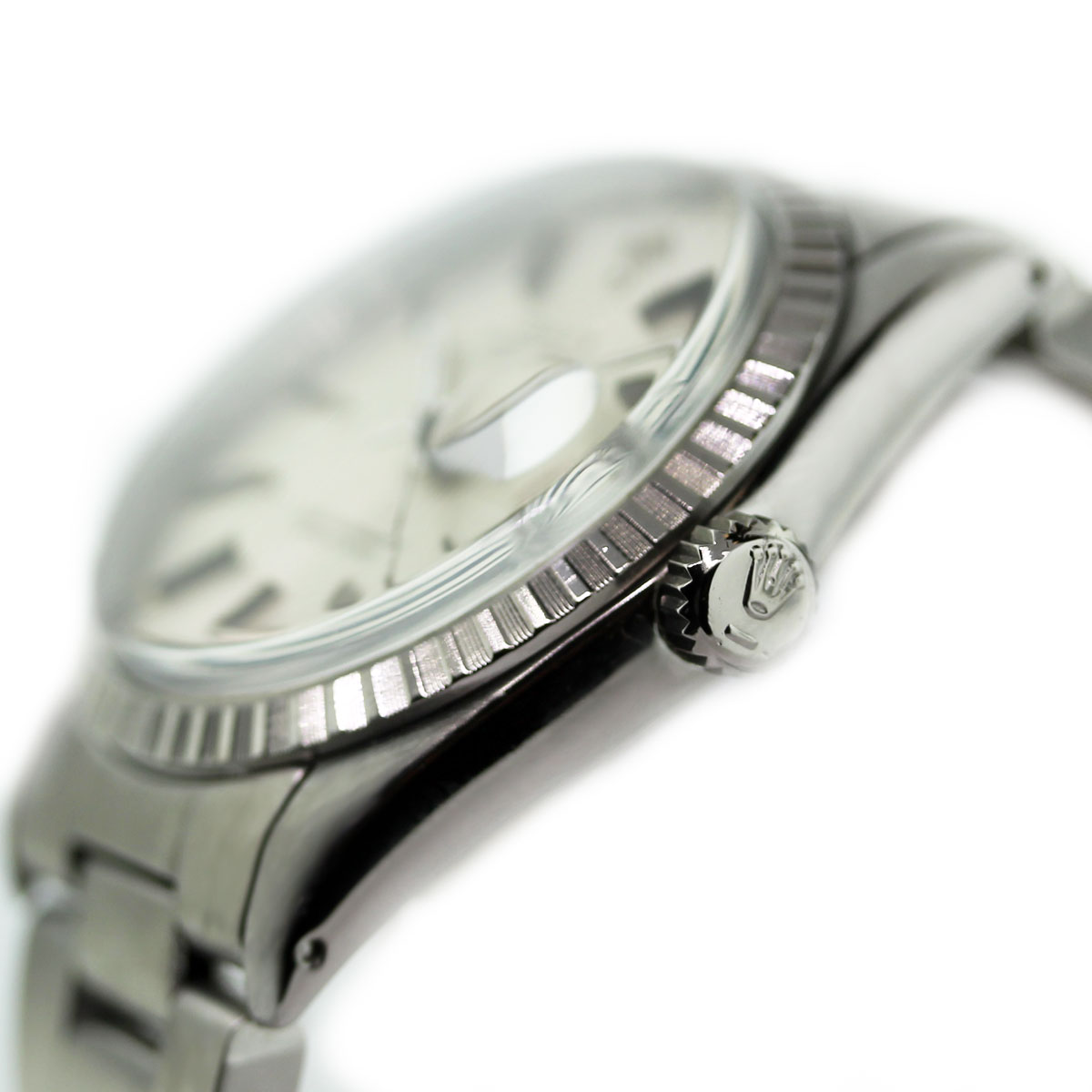 Rolex Datejust 16030 Stainless Steel Silver Dial Watch
