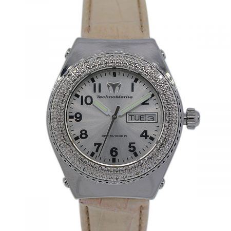 Ladies Technomarine Diamond Bezel Watch