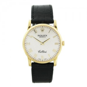 Rolex Cellini 5116 18k Yellow Gold Jubilee Dial Watch