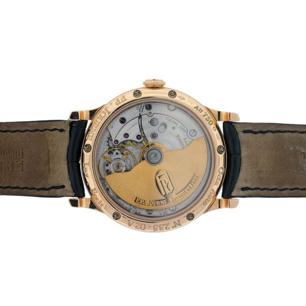 Exhibition Back for F.P. Journe Mens Watch