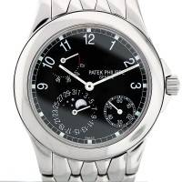 Patek Philippe 5085 Stainless Steel Power Reserve Moonphase Watch