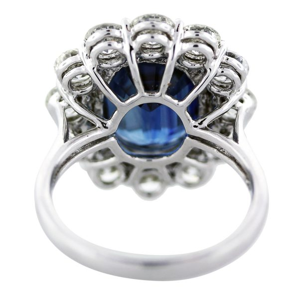large sapphire ring