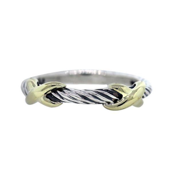 David Yurman Sterling Silver X Collection Ring
