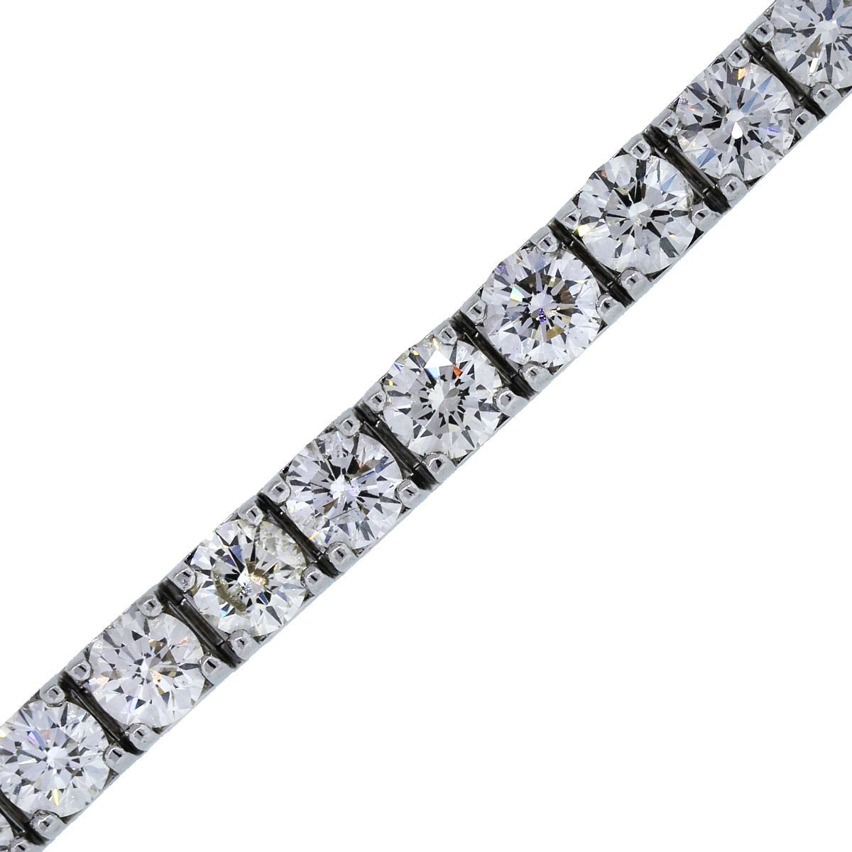21.78Ctw Diamond Tennis Bracelet