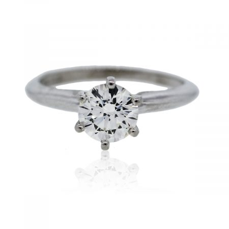 White Gold Engagement Ring