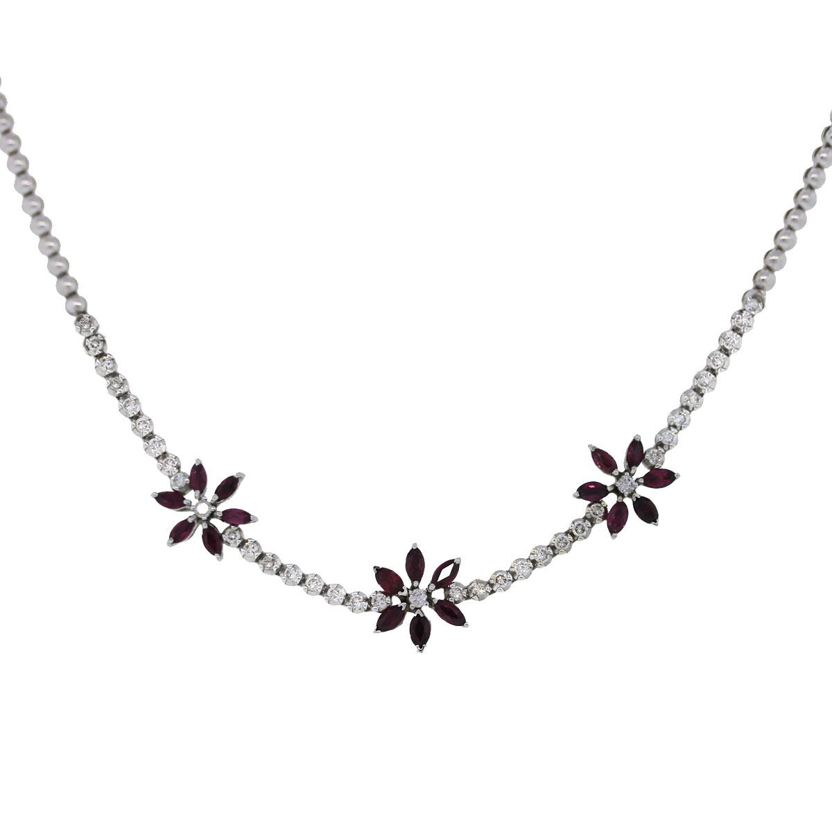 Marqui Flower Necklace
