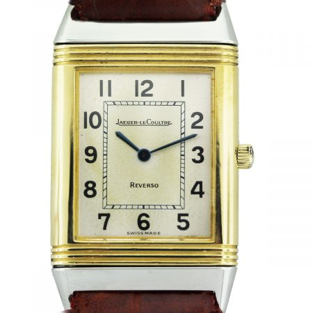Jaeger-Le Coultre Reverso Two Tone Mens Watch