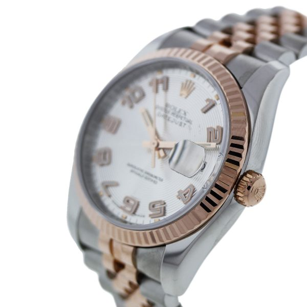 Two Tone with Rose Gold Rolex