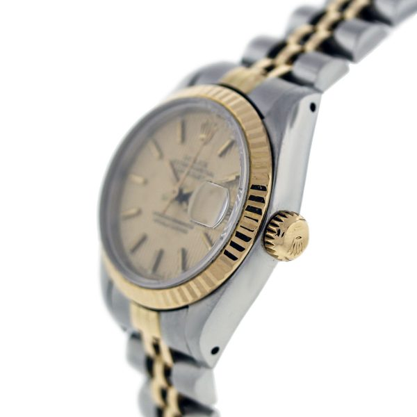 Estate Two Tone Rolex Oyster Perpetual
