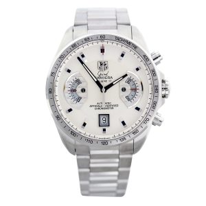 Tag Heuer Grand Carrera CAV511B Silver Dial Mens Watch