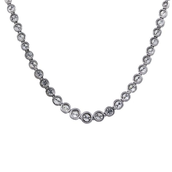 Pre-Owned 18k White Gold Necklace