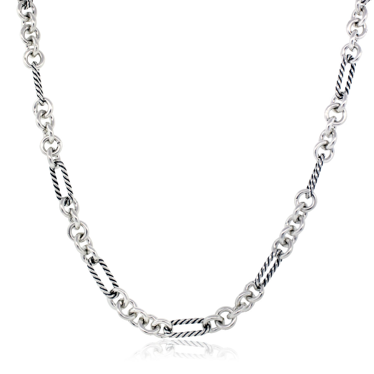 David Yurman Figaro Necklace