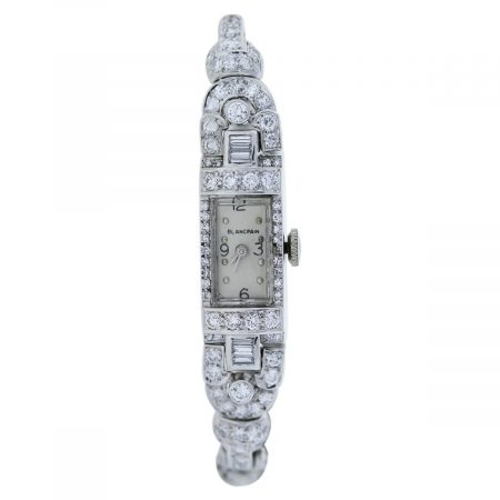 White Gold and Platinum Watch