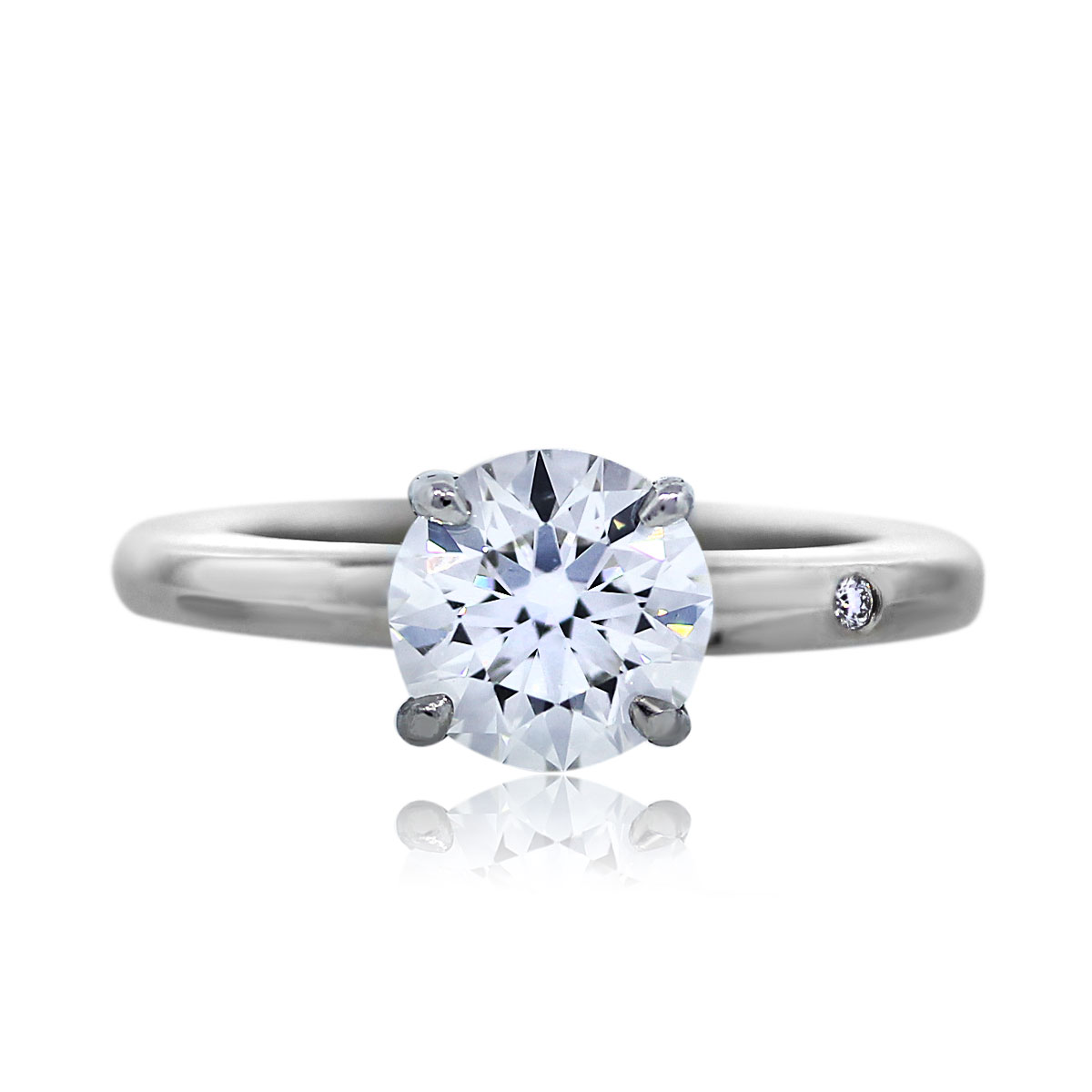 Hamilton Signature 1.06 Carat Solitaire Diamond Ring