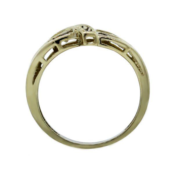 Yellow Gold and Baguett Ring