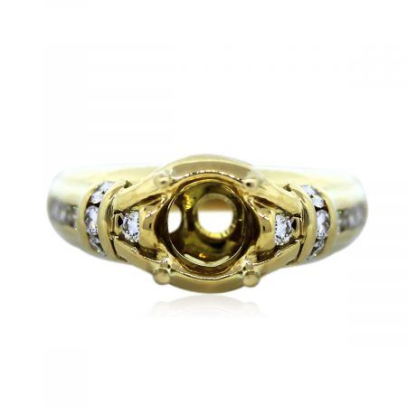 Four Prong Engagement Ring Setting