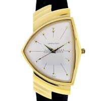 Hamilton Ventura Gold Filled Watch on Leather Strap