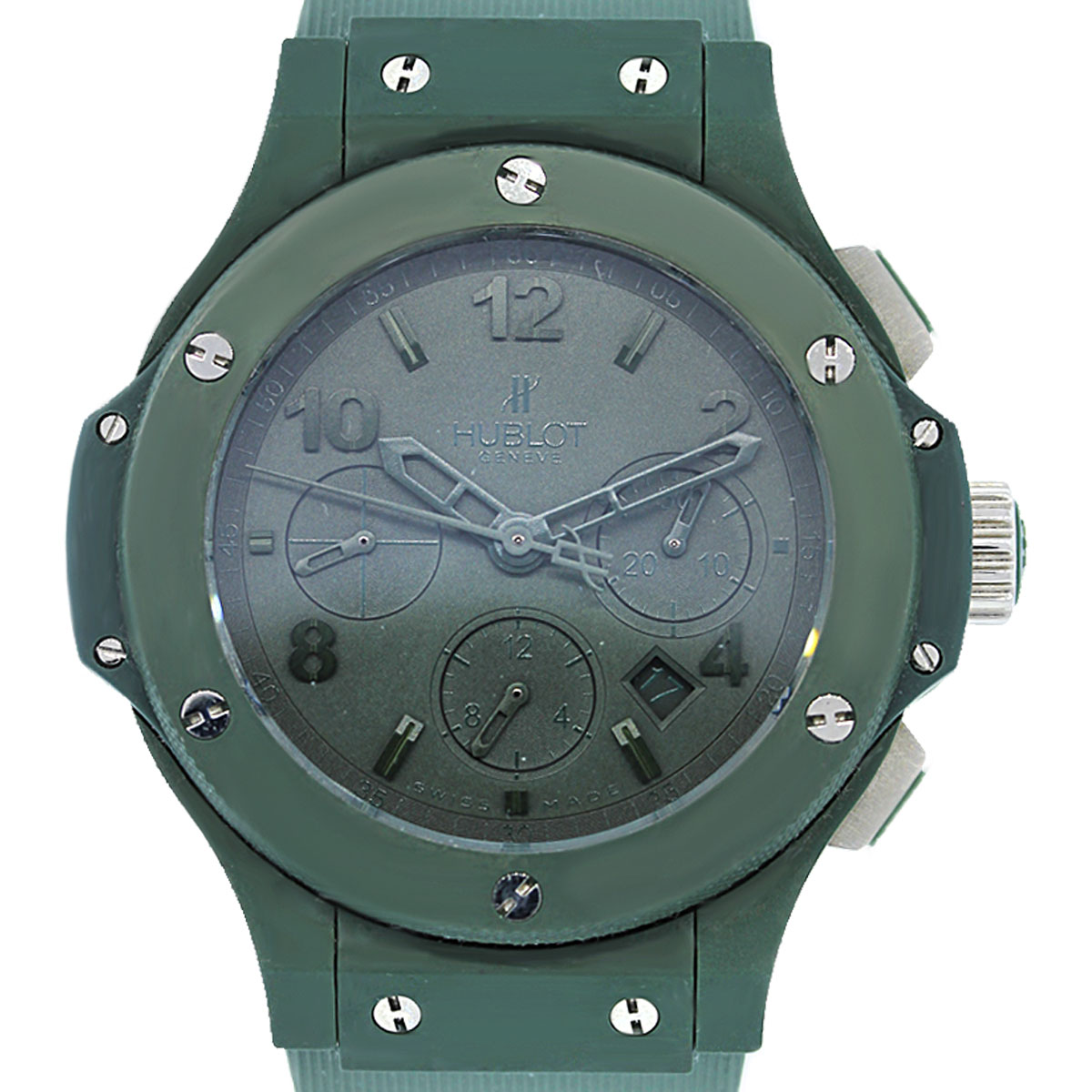 Hublot All Green PVD and Titanium Watch
