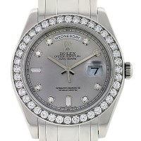 Rolex Special Edition Day-Date Platinum and Diamond Masterpiece Watch