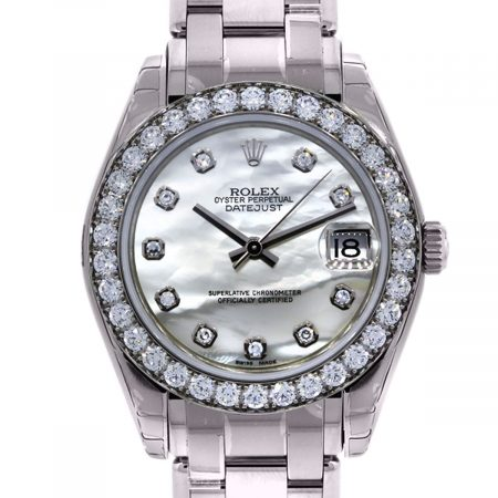 White Gold Midsize Rolex 81299