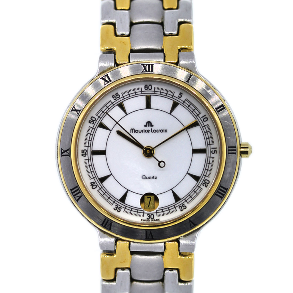 Mens Maurice Lacroix Two Tone Watch