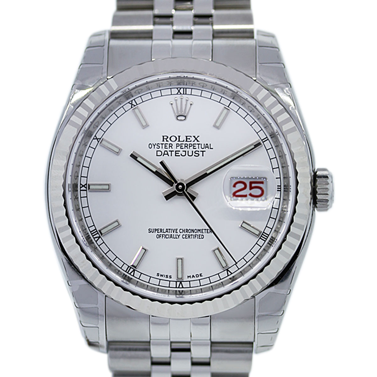 Scrambled Serial Rolex Datejust