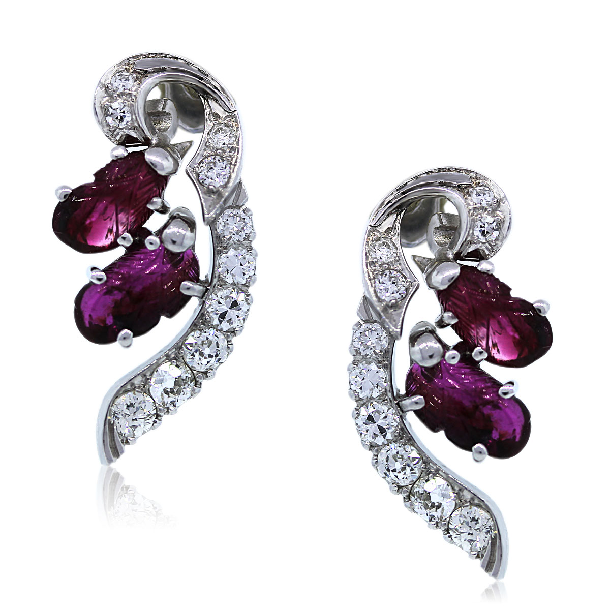 Platinum Vintage Earrings