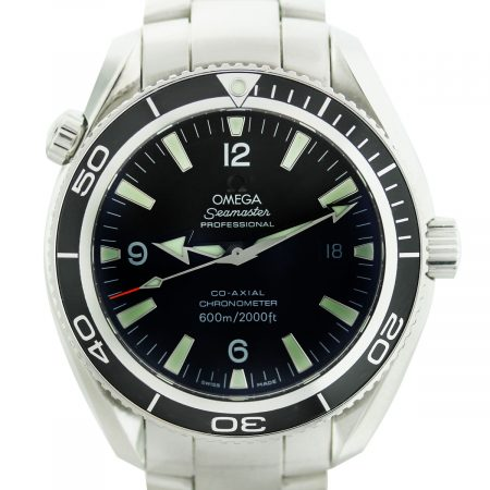 Omega Professional Seamaster Planet Ocean Stainless Steel Watch