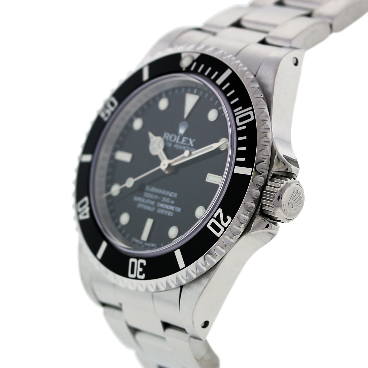 rolex submariner 16610 stainless steel non date mens