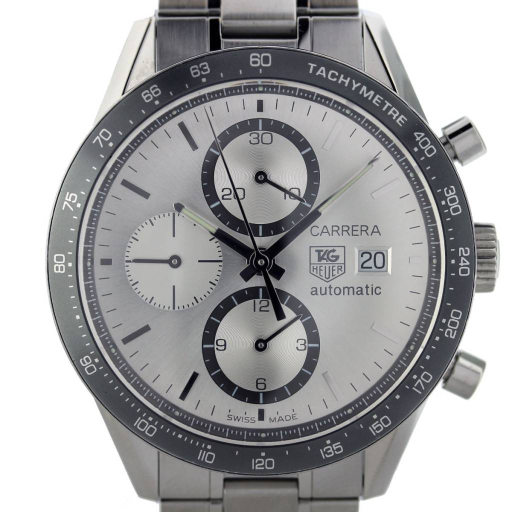 tag heuer carrera calibre 16 date automatic chronograph watch. Black Bedroom Furniture Sets. Home Design Ideas