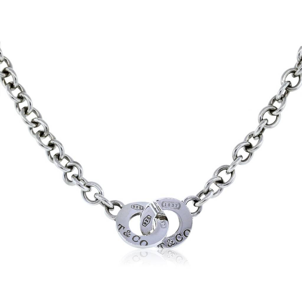 Tiffany And Company Toggle Necklace: Tiffany & Co. Sterling Silver 1837 Toggle Chain Necklace